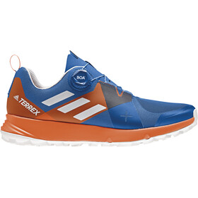 adidas TERREX Two Boa - Chaussures running Homme - orange/bleu